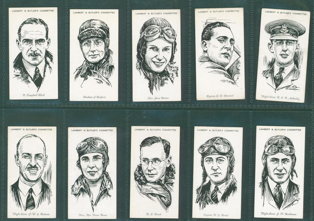 1935 Lambert & Butler Famous British Airmen & Airwomen
