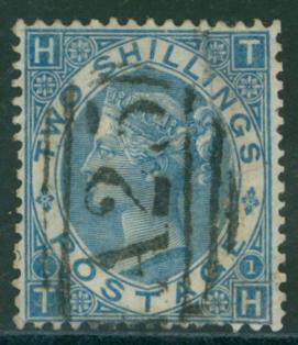 MALTA 1867 2s blue
