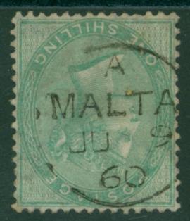 MALTA 1867 21s green