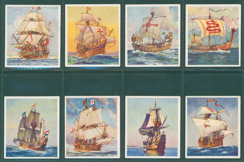 1938 Godfrey Phillips Ships that have made History