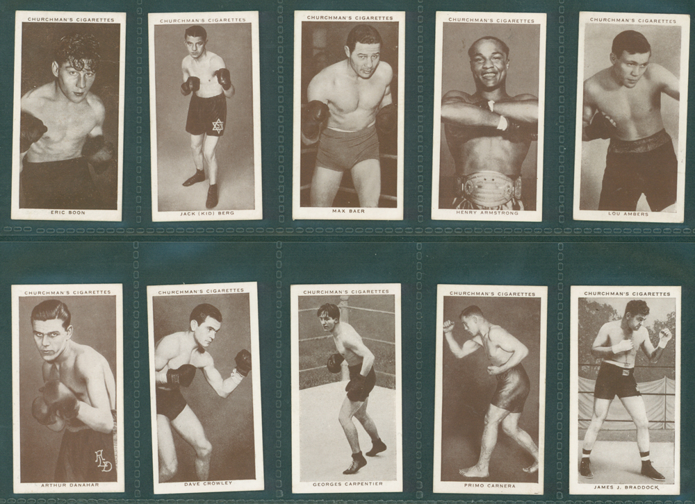 1938 Churchman Boxing Personalities