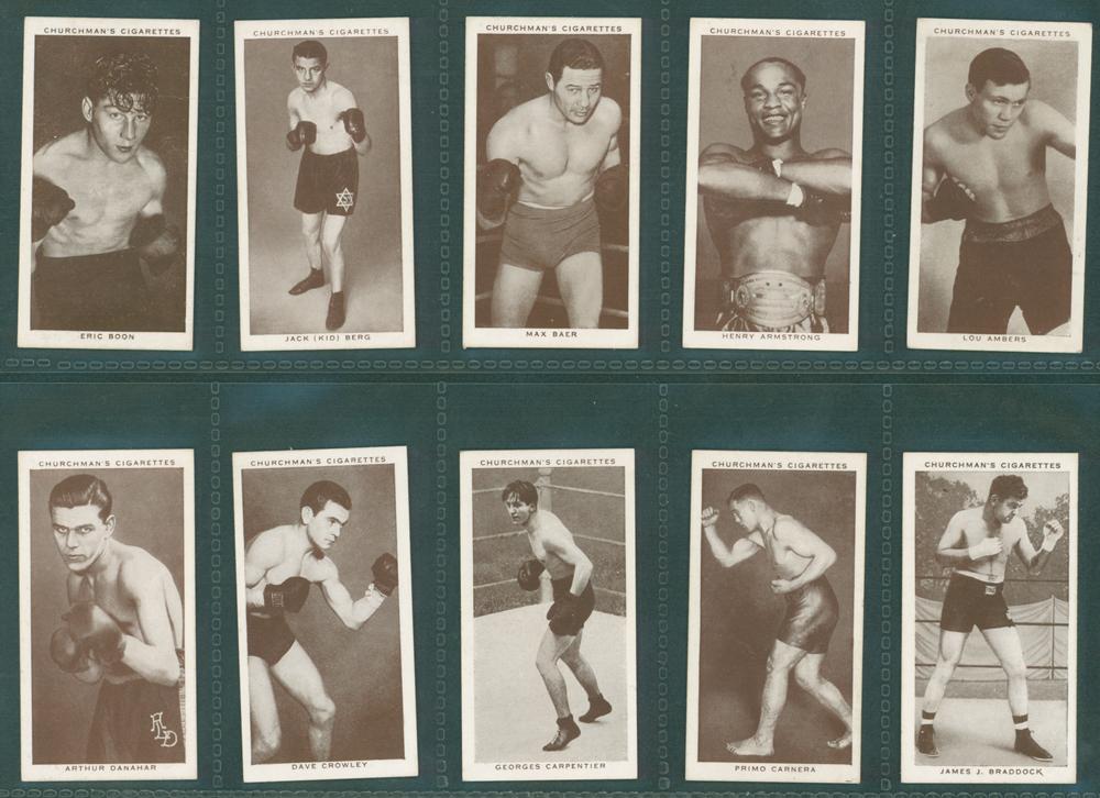 1938 Churchman Boxing Personalities