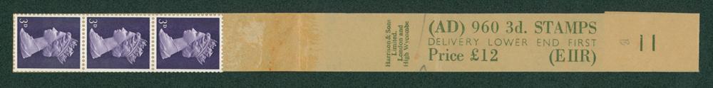 1968 3d violet (2 bands)