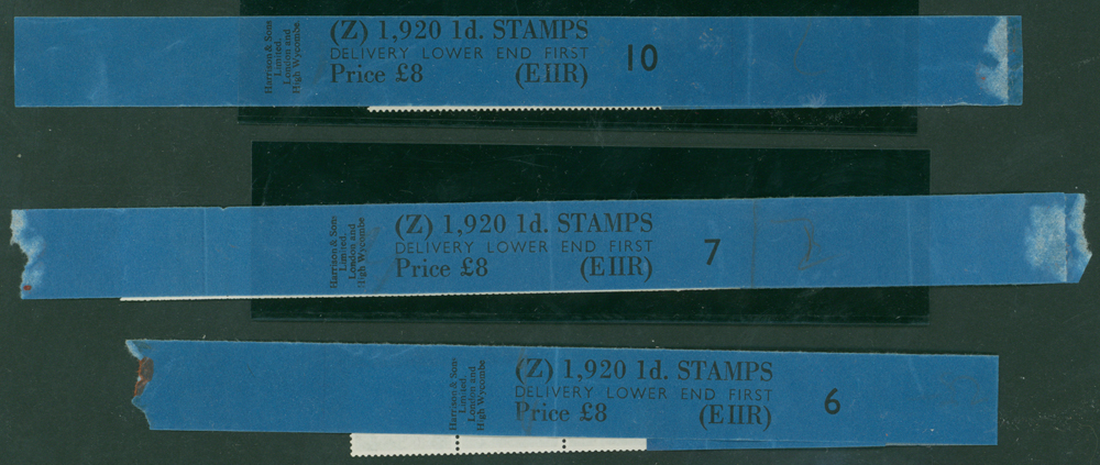 1968 1d light olive (2 bands) (3 items)