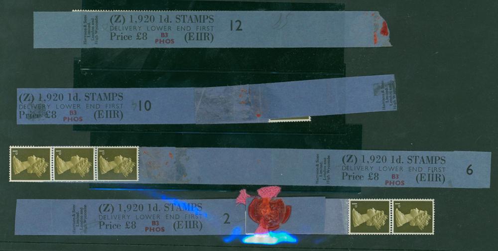1968 1d light olive (2 bands) (4 items)