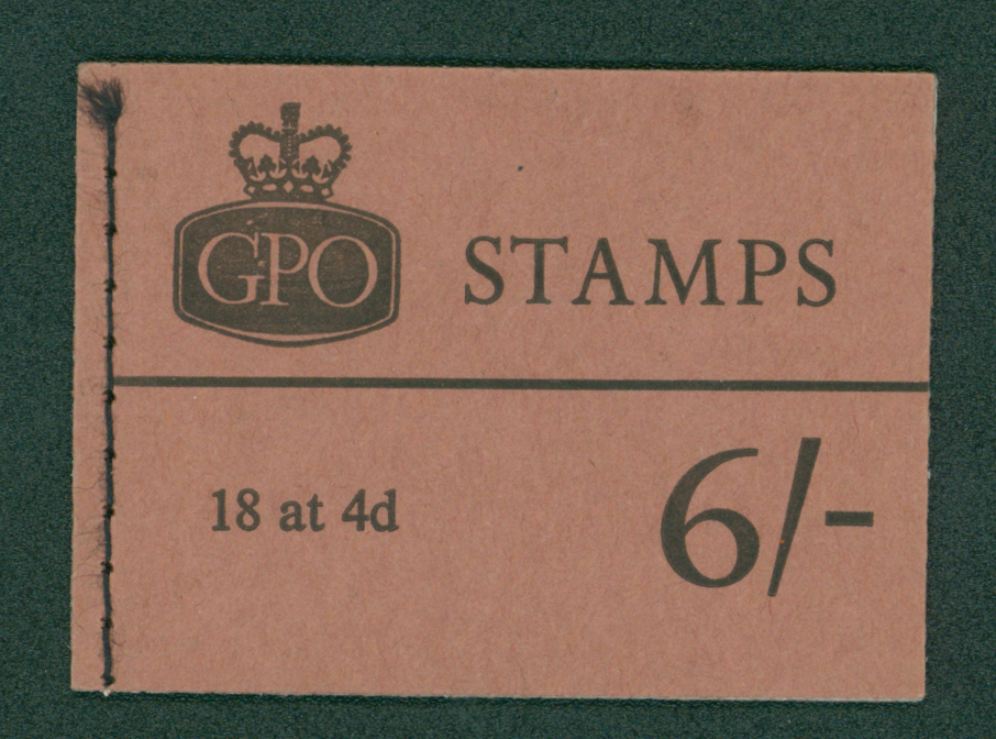 1968 (April) 6s booklet