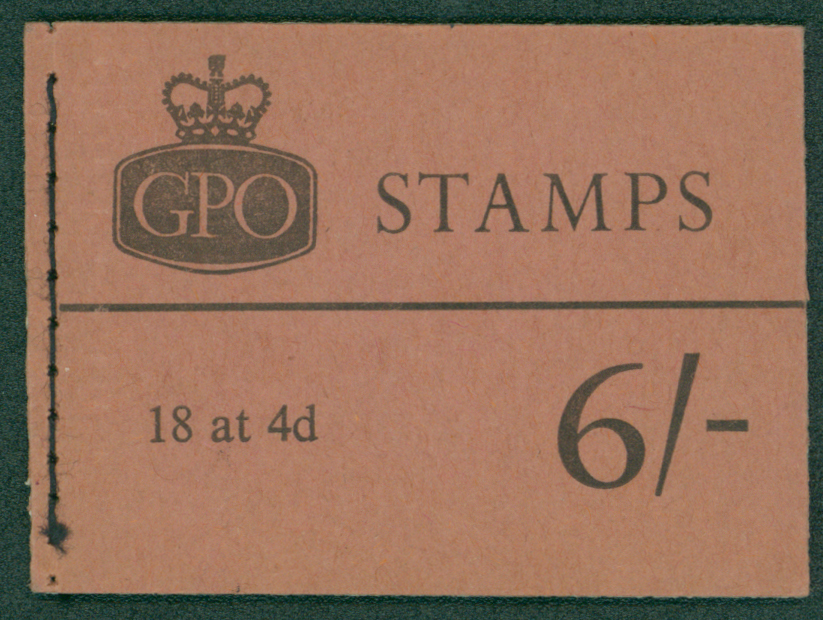 1968 (May) 6s booklet