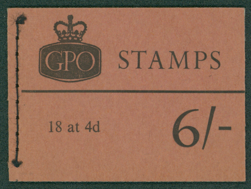 1968 (Jan) 6s booklet