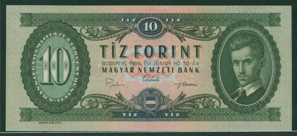 Hungary 1969 10 forint