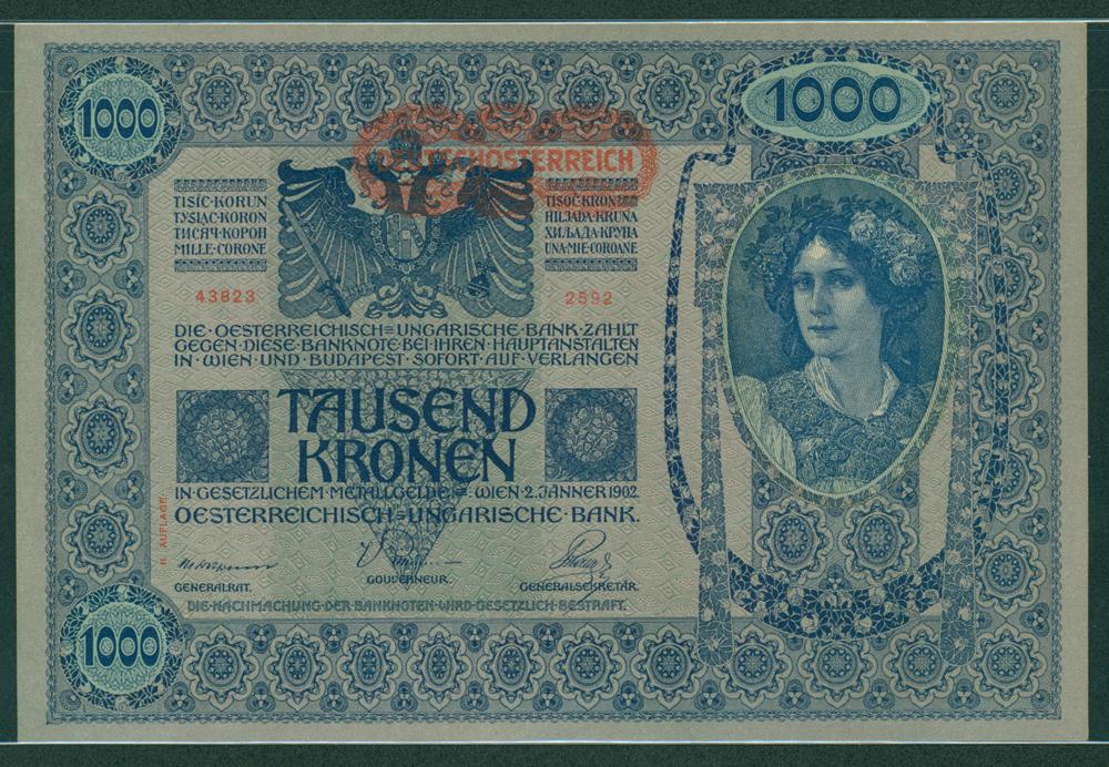 Austria 1902 1000 kronen
