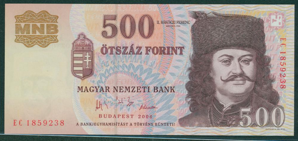 Hungary 2006 500 forint