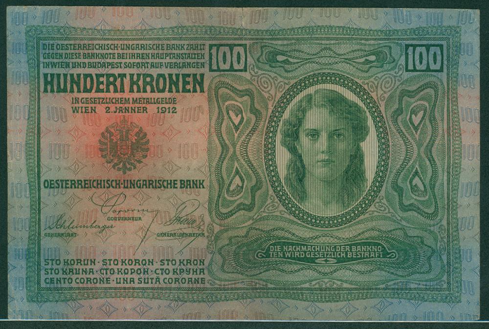 Austria 1912 100 kronen