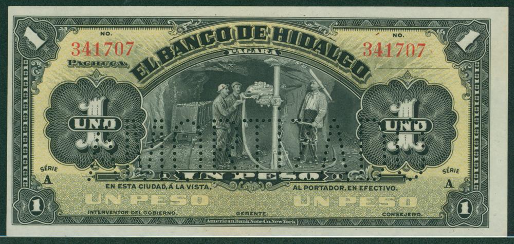 Mexico 1914 1 peso