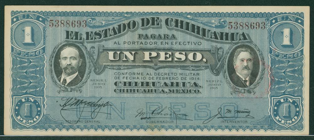 Mexico 1915 1 peso