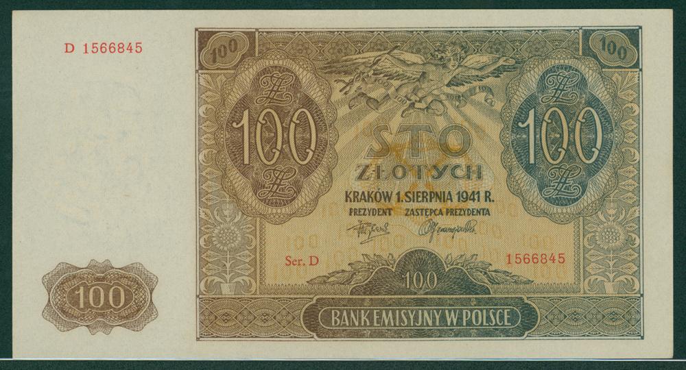 Poland 1941 100 zlotych
