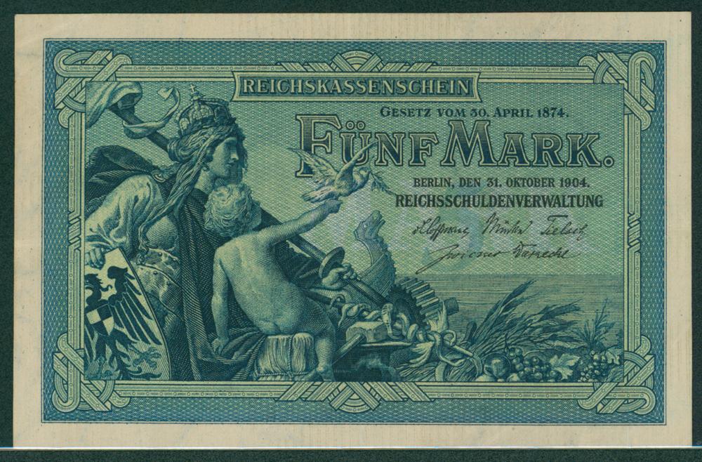 Germany 1904 5m