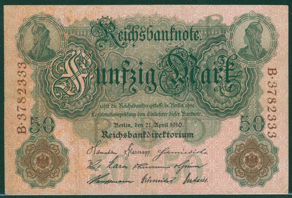 Germany 1910 50m