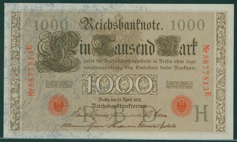 Germany 1910 1000m