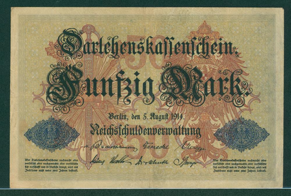 Germany 1914 50m