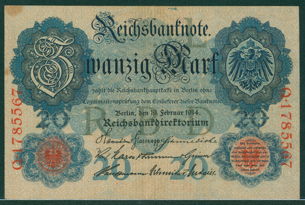 Germany 1914 20m
