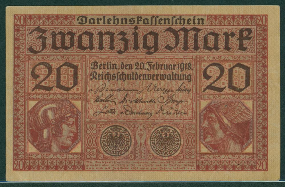 Germany 1918 20 mark