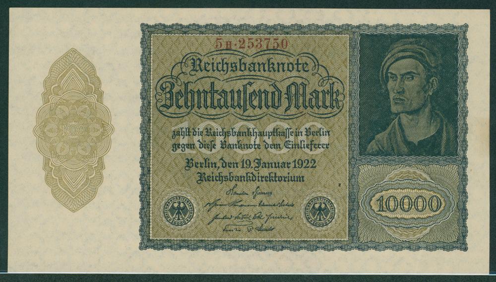 Germany 1922 10,000 mark