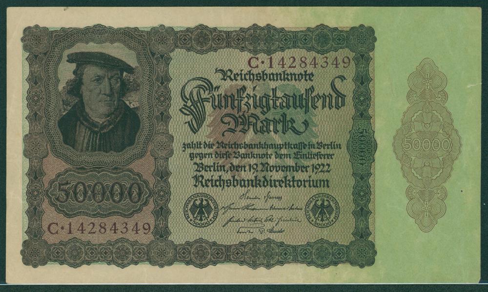 Germany 1922 50,000 mark