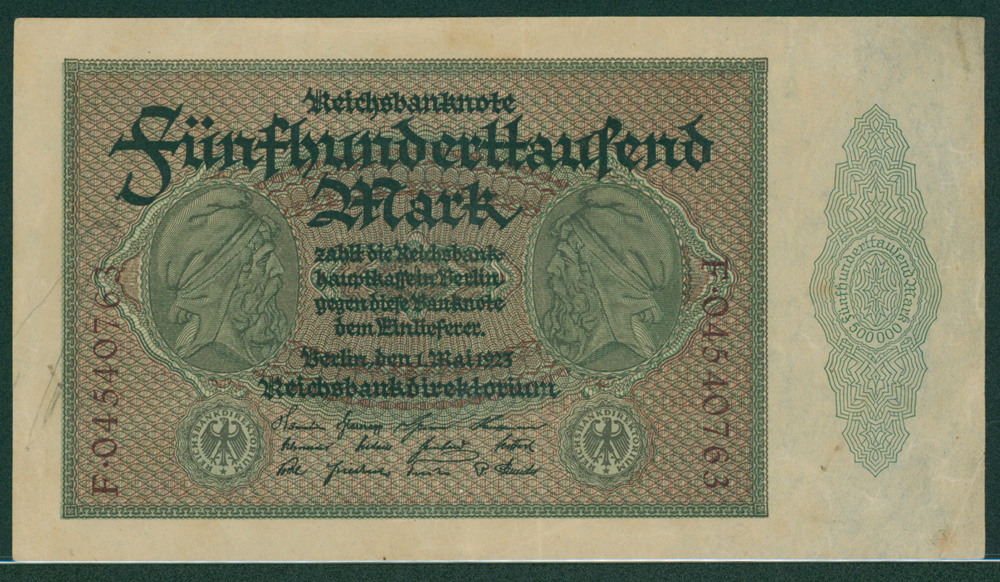 Germany 1923 500,000 mark