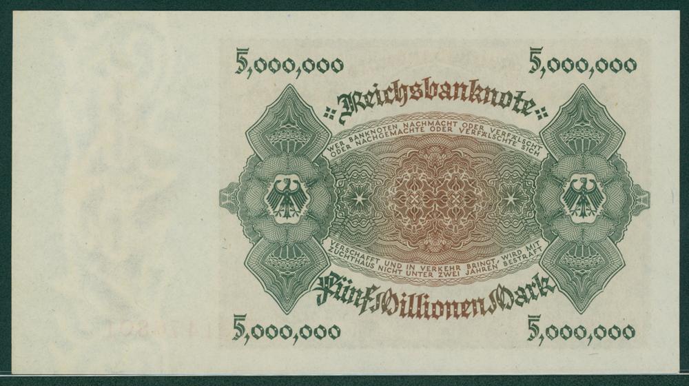 Germany 1923 5 million mark