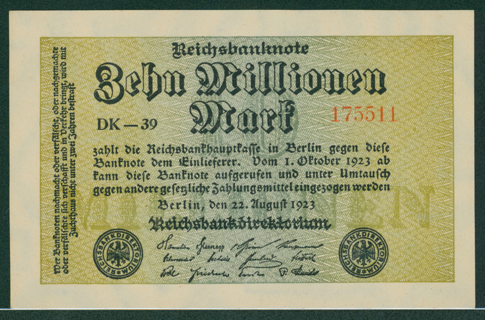 Germany 1923 10 million mark