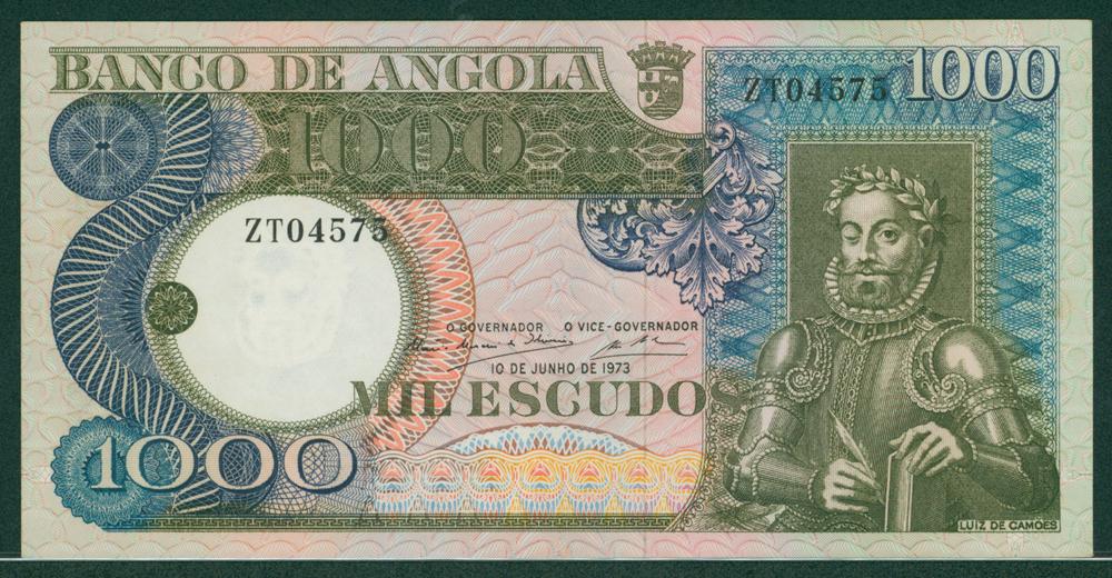 Angola 1973 1000 escudos