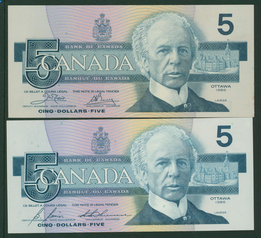 Canada 1986 $5 (2)