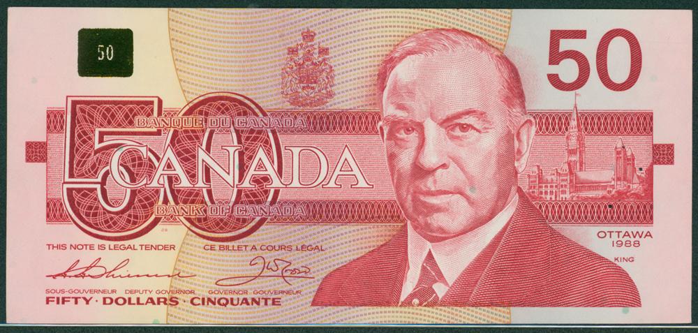 Canada 1988 $50