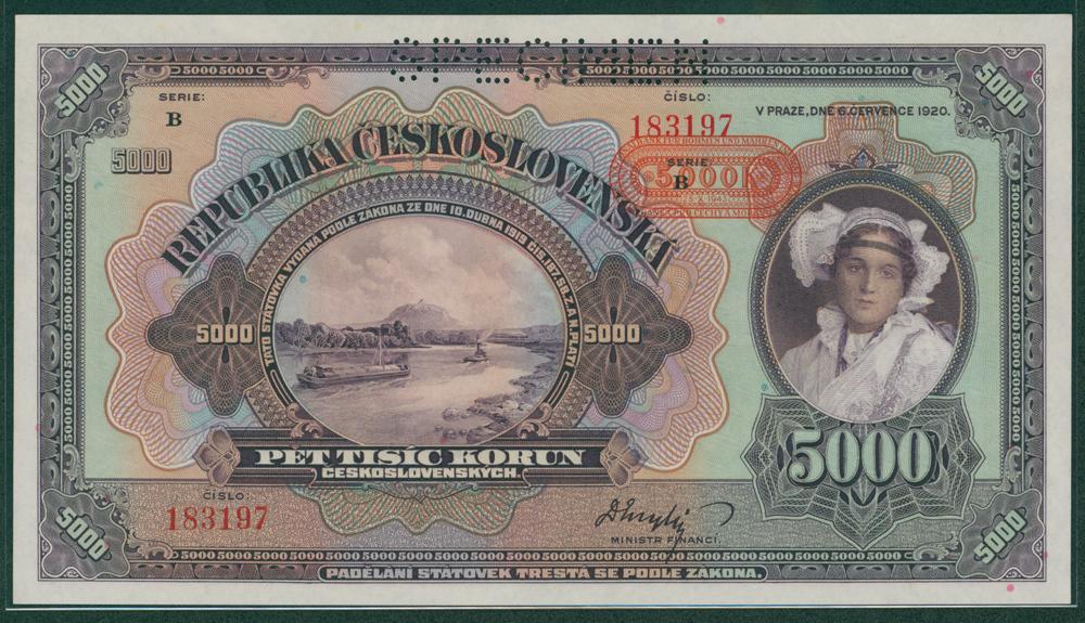 Czechoslovakia 1920 500 korun