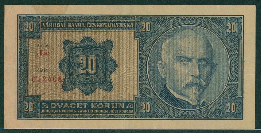 Czechoslovakia 1926 korun