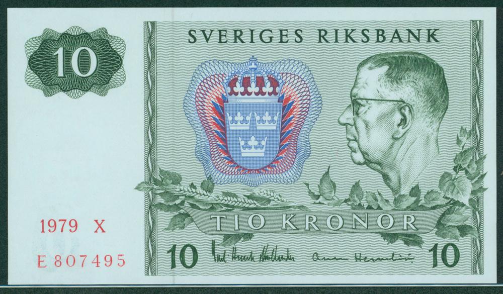 Sweden 1979 10 Kroner