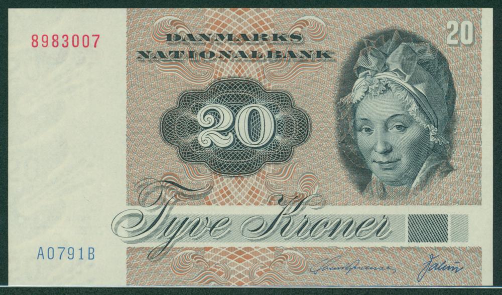 Denmark 1979 20 Kroner