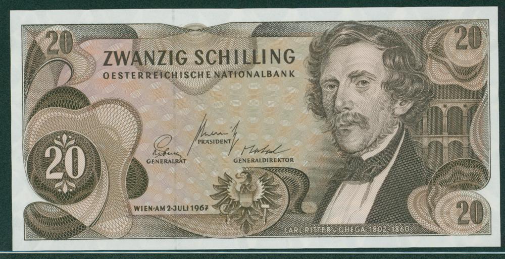 Austria 1967 20 Schilling