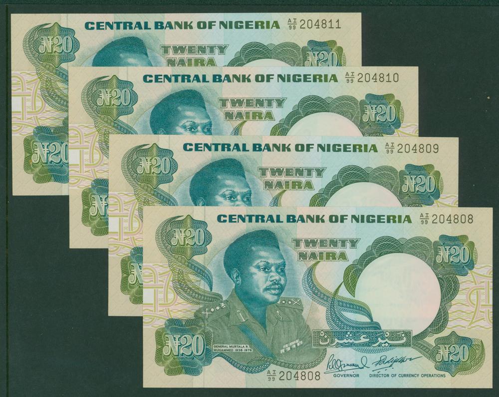 Nigeria 1984-2005 20 Naire