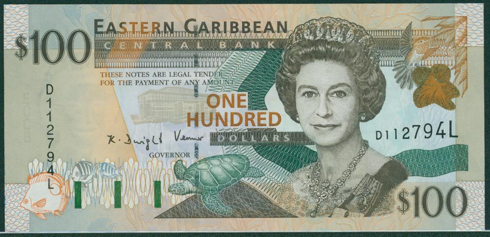 Eastern Caribbean 2000 $10