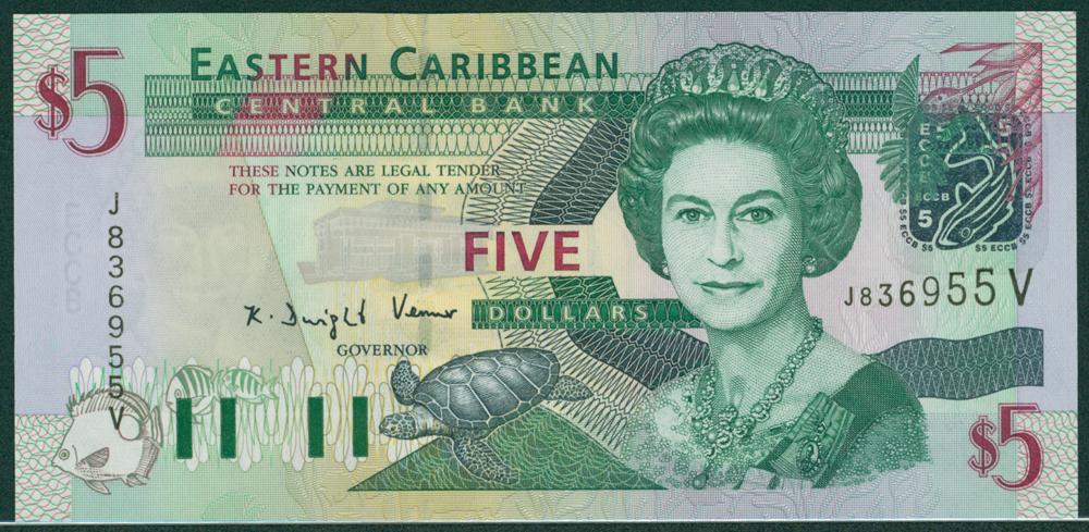 Eastern Caribbean 2000 $100