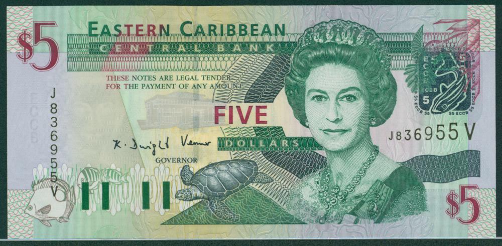 Easterrn Caribbean 2003 $5