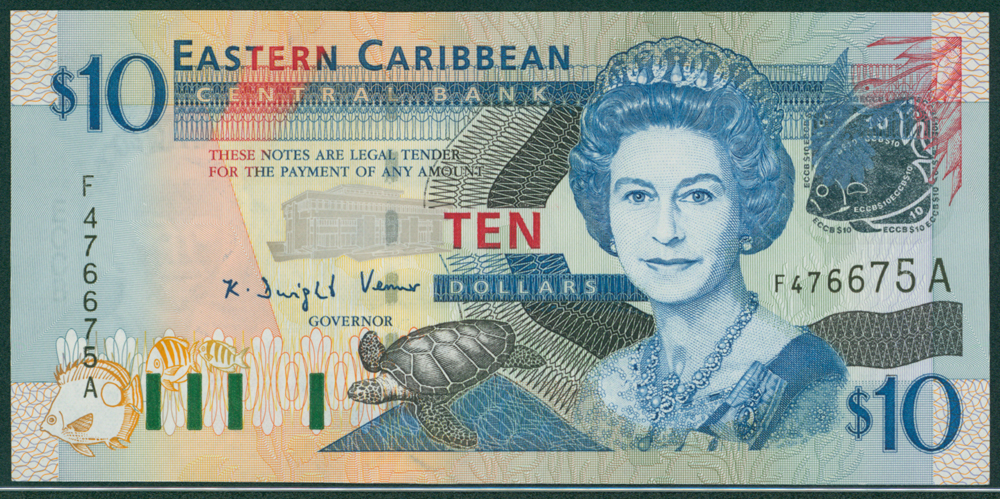 Eastern Caribbean 2003 $10