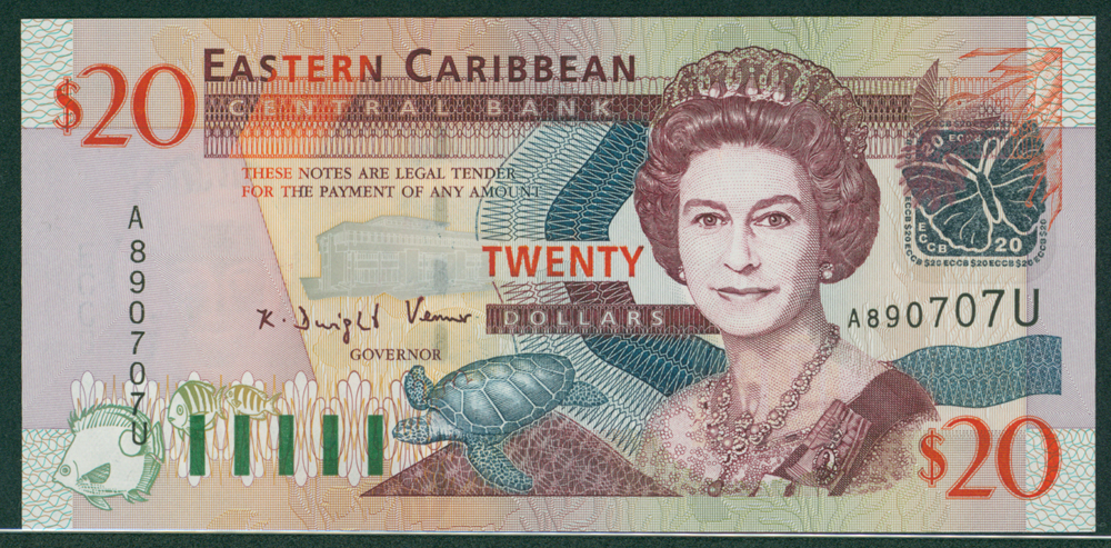 Eastern Caribbean 2003 $20