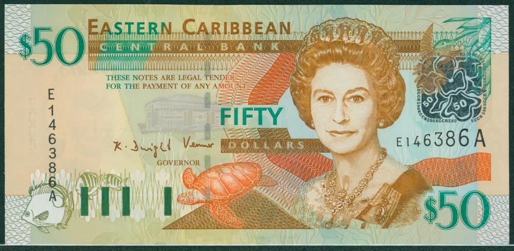 Eastern Caribbean 2003 $50