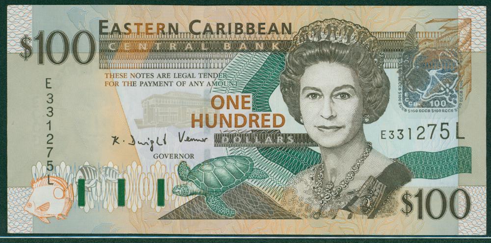 Eastern Caribbean 2003 $100