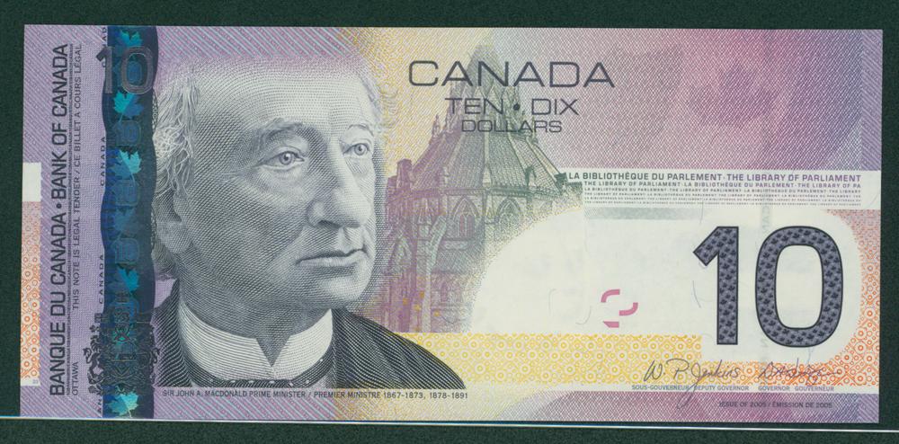 Canada 2005 $10 Macdonald