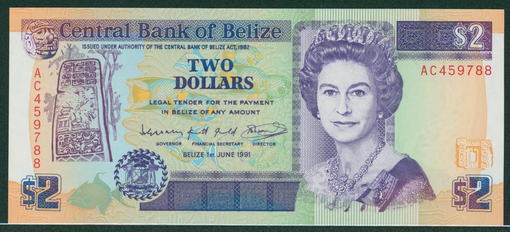Belize 1991 $2