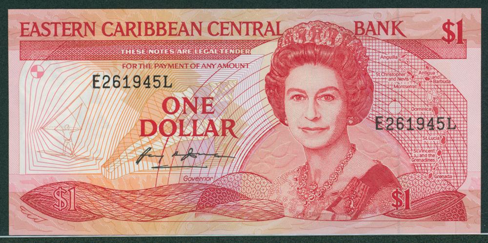 Eastern Caribbean 1988-89 $1