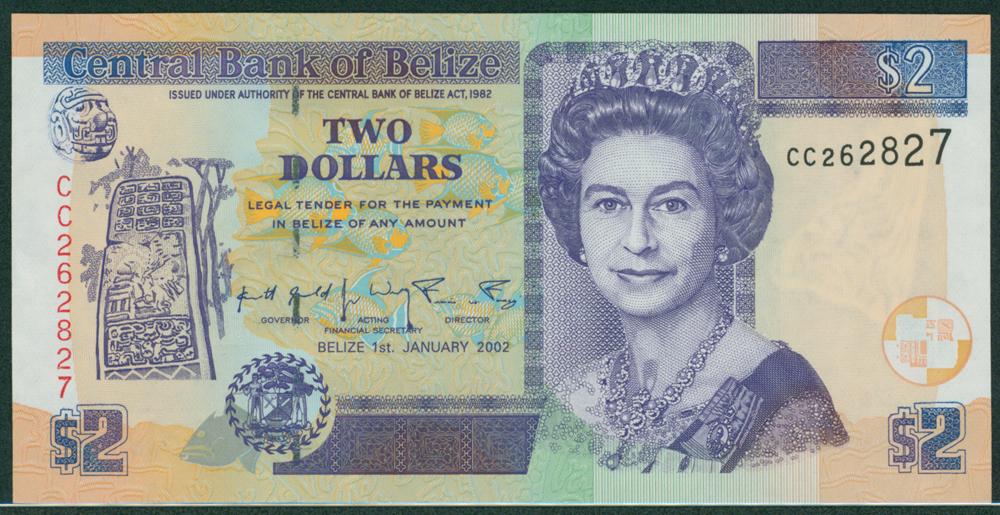 Belize 2002 $2